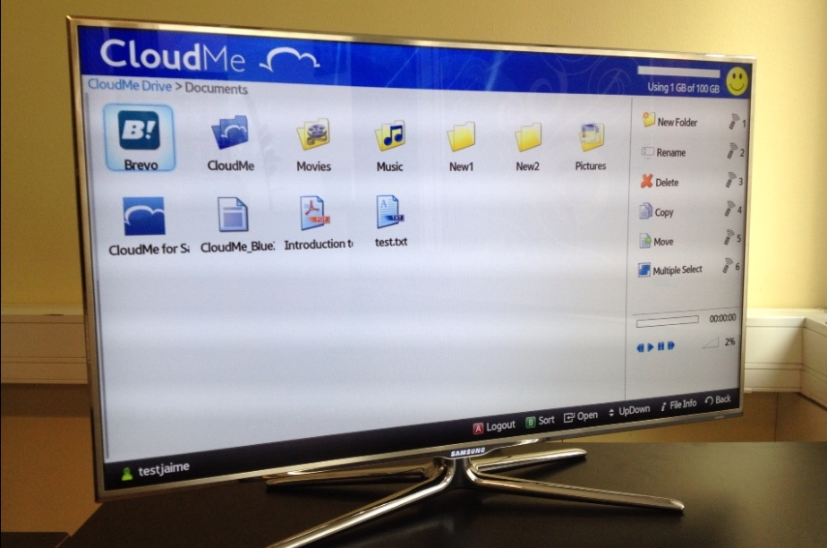 CloudMe 3 ГБ