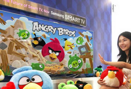 Angry birds smart tv samsung lg
